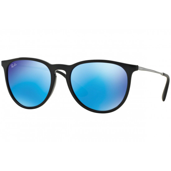 Ray-Ban Erika Black/ Blue Mirror
